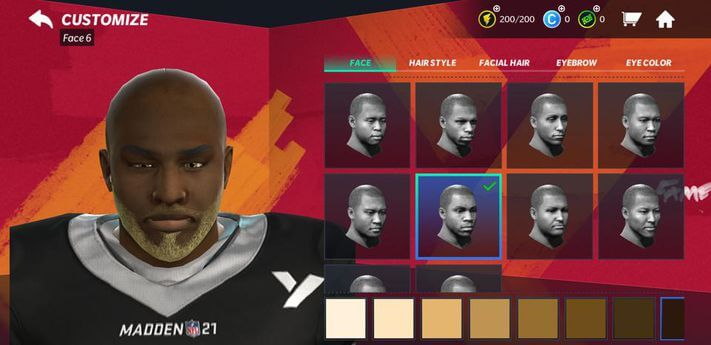 Madden 2k21 Customisation