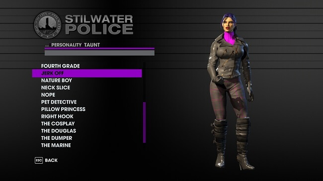 Saints Row Character Creator