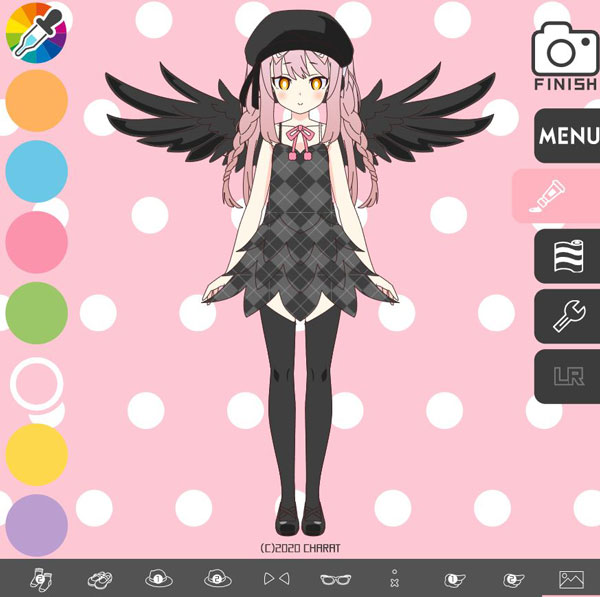 Charat Genesis Anime Girl Creation and Customisation