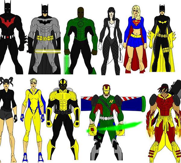 Superhero Creator Avatar Games Costume Creator